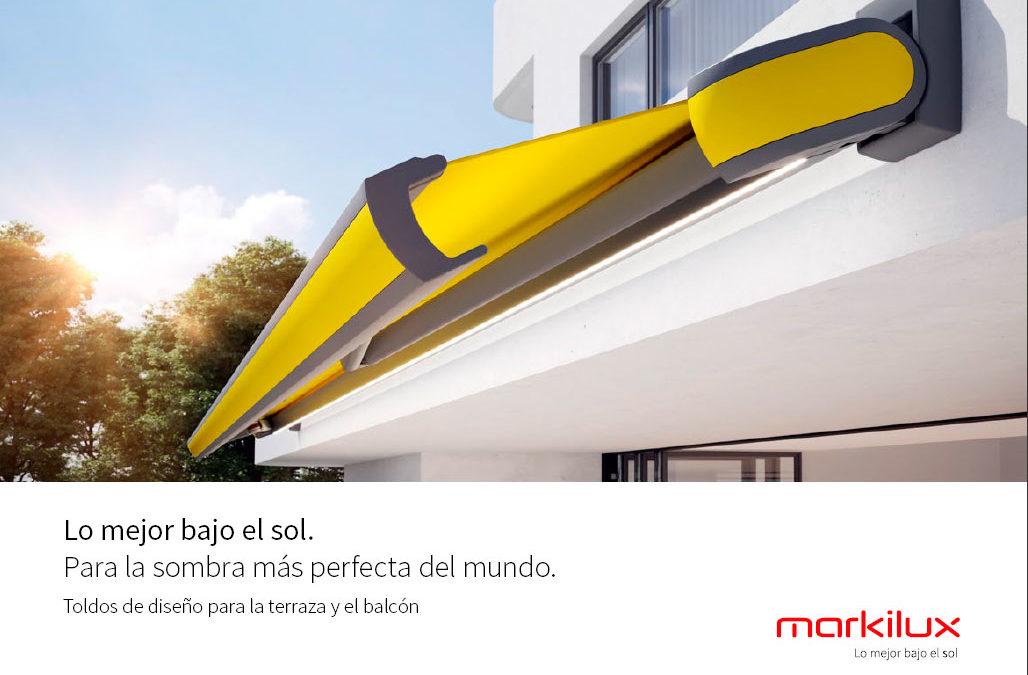 Catálogo toldos cofre para balcones y terrazas Markilux
