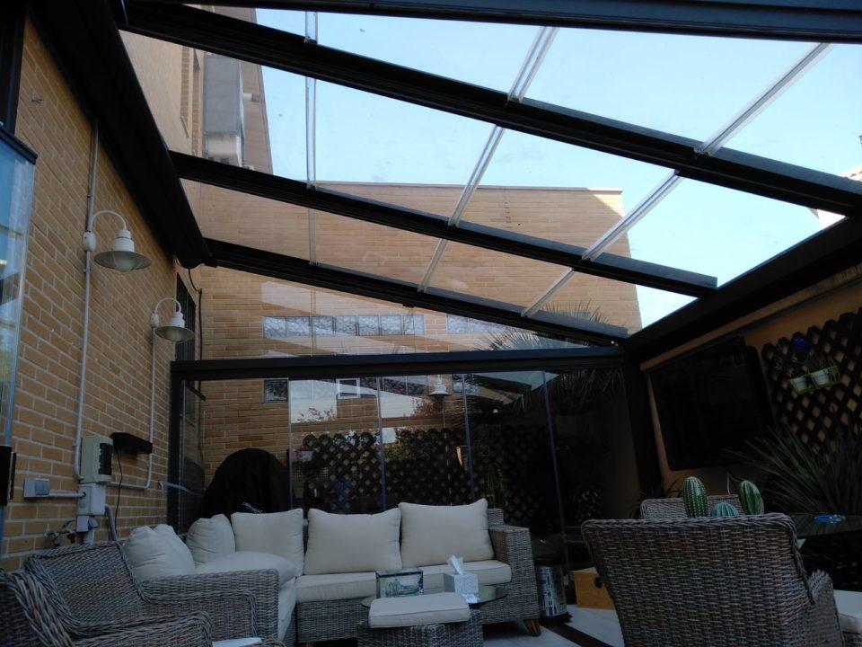 techos cristal móvil baleares