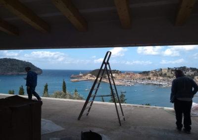 Pérgolas bioclimáticas en vivienda unifamiliar en Port de Soller