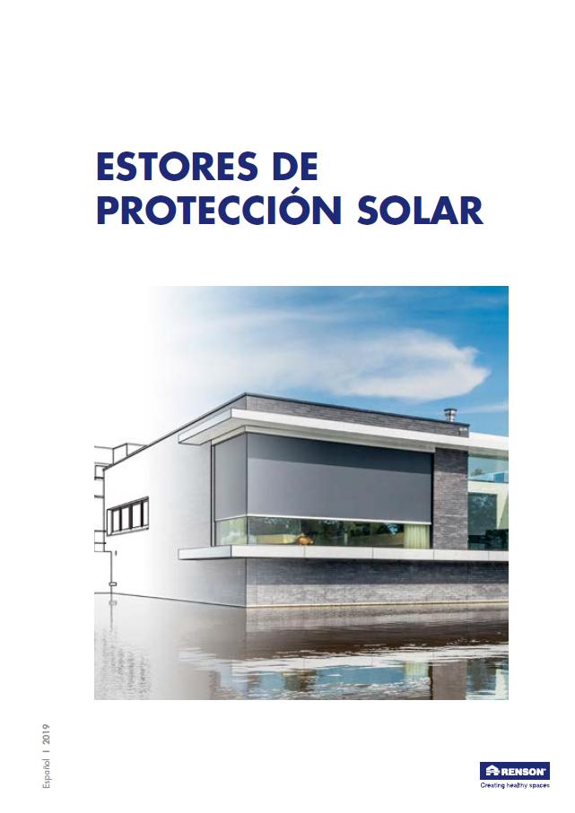 Renson Estores proteccion solar 2019 portada 1