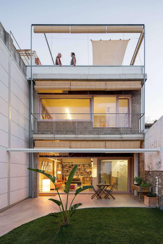 alicantinas viviendaestudio valorllims arquitectura terraza recogidas