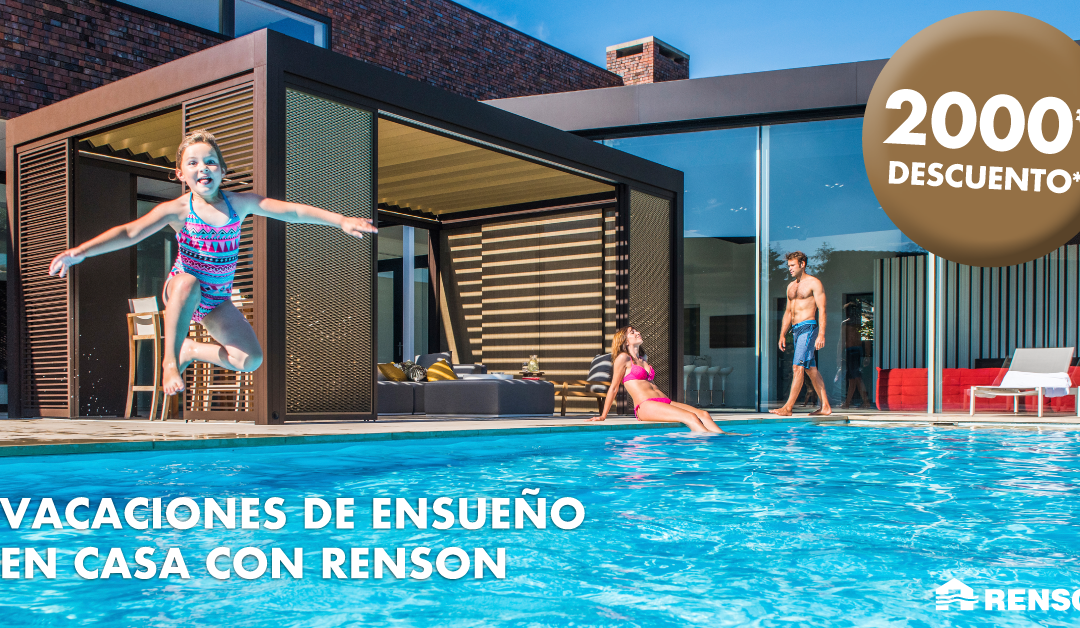 """RENSON special offer """"Staycation"""""""