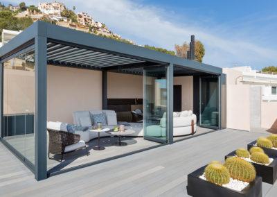 Protección solar – Penthouse en Cala Fonoll (Pto. Andratx)