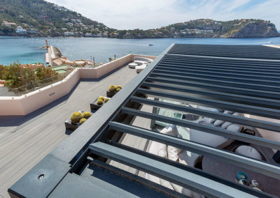 Sun protection – Penthouse in Cala Fonoll (Puerto de Andratx)