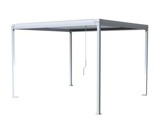 Manual bioclimatic pergola CORRADI Eteria